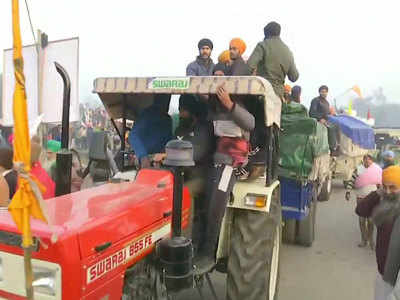 Watch: Farmers head towards Delhi as part of R-day tractor rally