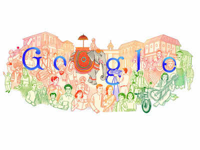 India's colourful heritage comes alive in Republic Day Google doodle