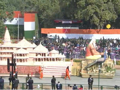 Ayodhya on Rajpath: UP's R-Day tableau showcases replica of Ram temple, city's cultural heritage