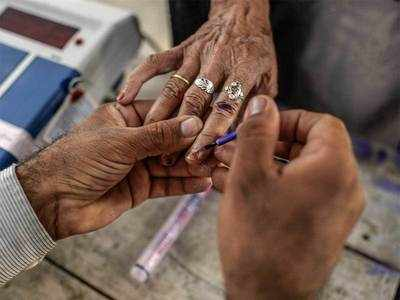 Election in vaccination mode: Twin tasks for 5 assembly polls