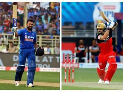 Kohli, Rohit remain number 1 and 2 in ICC ODI rankings