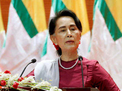 Suu Kyi aide, electoral officials arrested in Myanmar, Biden approves sanctions