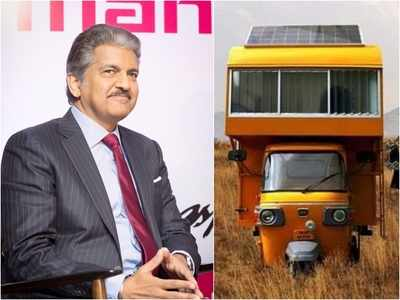 'I look forward to what's next', says man who built tiny house on top of a rickshaw after Anand Mahindra's 'connect me to him' tweet