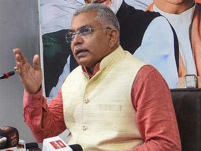 Single-phase poll in Bengal if BJP voted to power: Dilip Ghosh