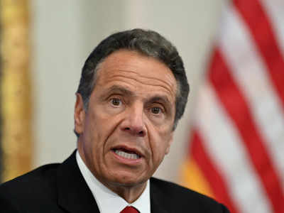 Under siege over sex harassment claims, New York Governor Andrew Cuomo offers apology