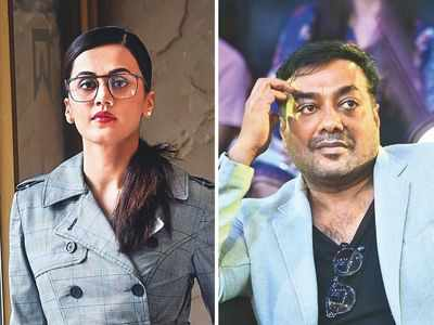 I-T dept raids premises linked to Taapsee Pannu, Anurag Kashyap's Phantom Films as part of tax evasion probe