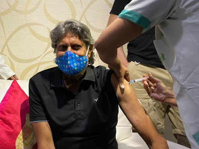 Kapil Dev receives first dose of COVID-19 vaccine