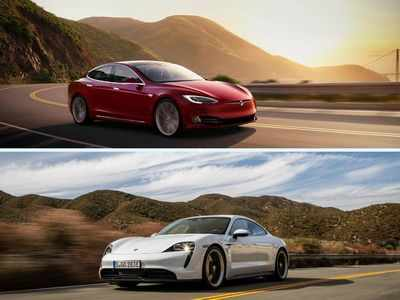 Can Porsche Taycan unseat the 2021 Tesla Model S? Tech, range and prices compared