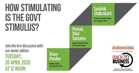 How stimulating is the government stimulus? | Economic Times #BackToBiz Webinar