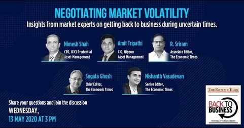 Negotiating Market Volatility | Back To Business - Webinar | Economic Times