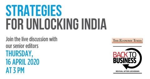 How should the government get India back to business | Strategies for Unlocking India