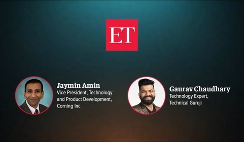 In conversation with Jaymin Amin, VP, Technology and Product Development, Corning Gorilla Glass, and Technical Guruji
