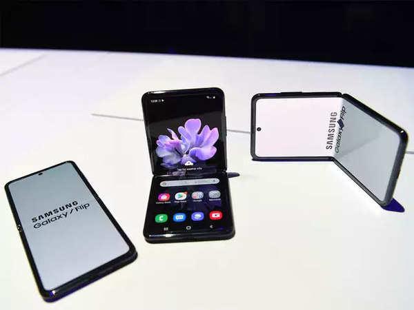 Samsung Galaxy Z Flip Price Samsung Unveils New Foldable Phone