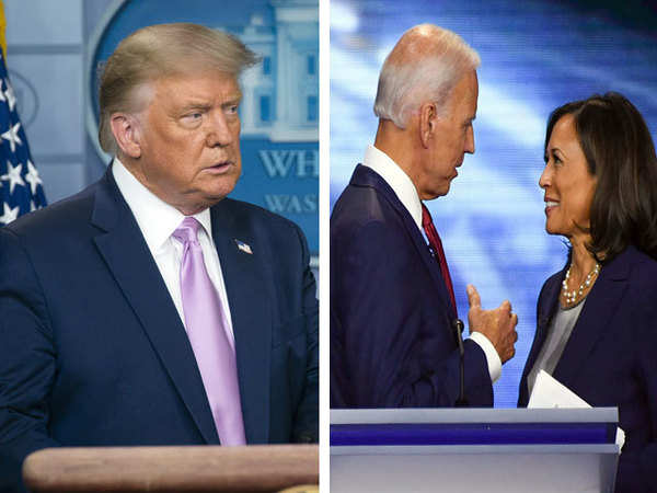 Donald Trump: Trump calls Biden's pick Harris as 'risky', says ...