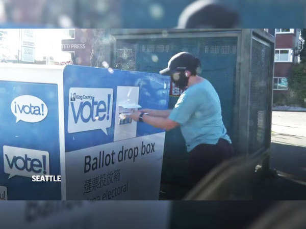 Us Elections 2020 County In Washington State Sees High Voter Turnout The Economic Times Video Et Now