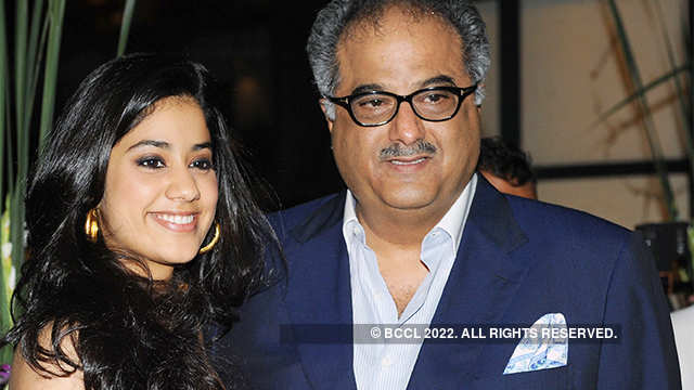 Proud dad Boney Kapoor's advice to Janhvi: Remain simple