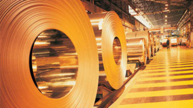 Steel prices remain flat in thin trade - The Economic Times