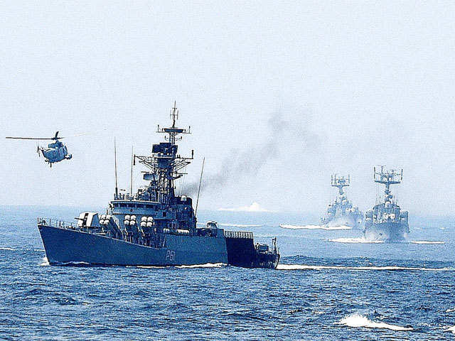 India, Sri Lanka begin naval exercise - The Economic Times