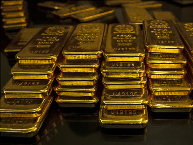 Gold prices: Gold rate today: Bullion falls as tensions in West ...