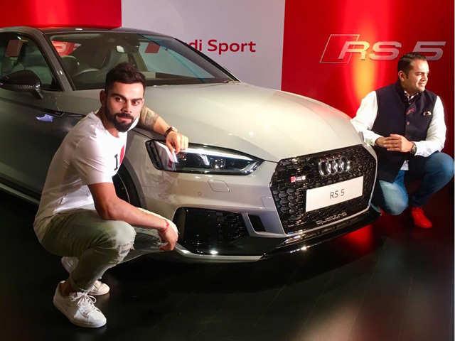 Audi Rs 5 Coupe Virat Kohli Launches New Audi Rs 5 Coupe At