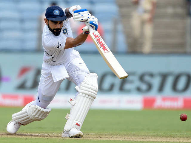 Virat Kohli surpasses Tendulkar, Sehwag for record double hundreds ...