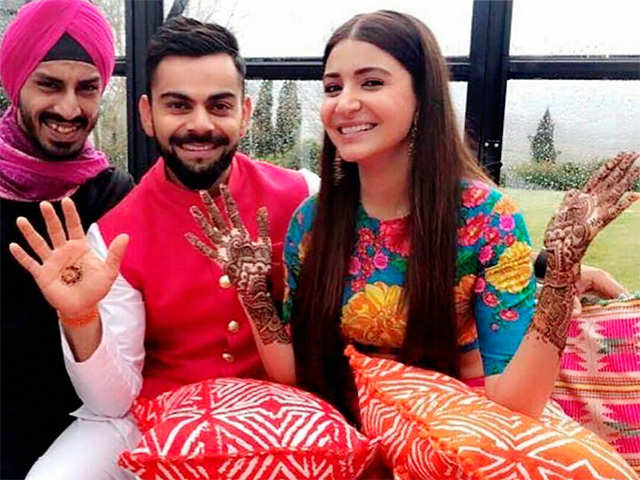 Anushka Sharma spends quality time with hubby Virat Kohli in