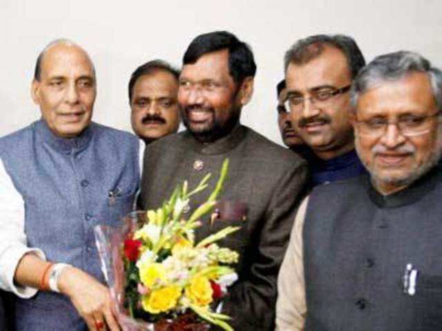 Ram Vilas Paswan S Return To Nda Doesn T Go Down Well With Many Old Timers The Economic Times