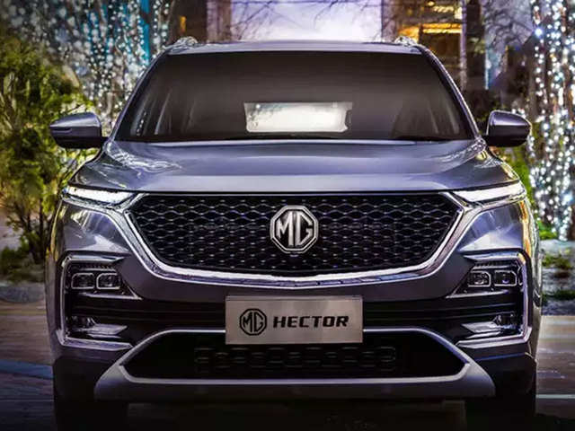 Image result for images of MG hector plus india