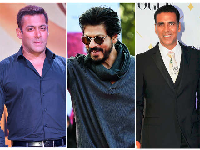Salman, Akshay join George Clooney among world's top 10