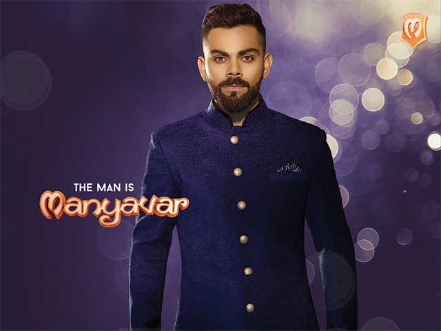 Manyavar Brand Ambassador Manyavar Appoints Virat Kohli As