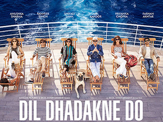 Zoya Akhtar's multi-starrer 'Dil Dhadakne Do' official poster out - The  Economic Times