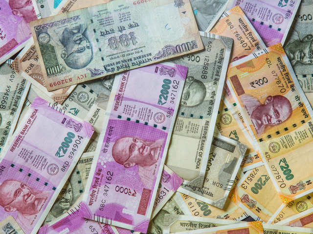 Ru Settles 30 Paise Lower At 76 83