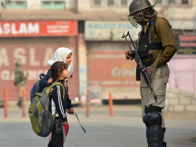 Image result for indian army in j&k helping people
