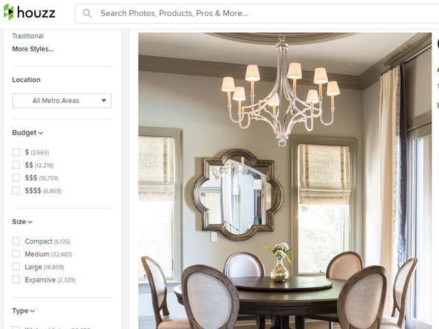 Home Design Startup Houzz Sets Up India