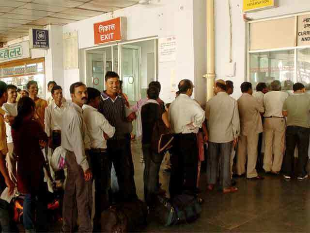 Railway reservation counters to open on Sunday evening - The