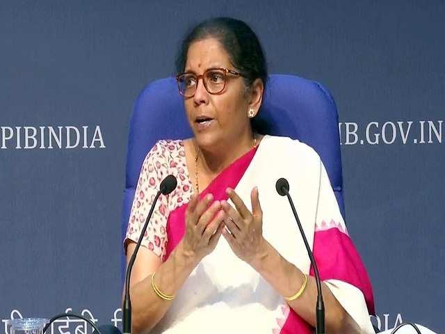 Finance Minister Nirmala Sitharaman, online education