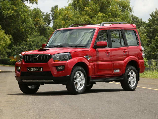 Mahindra Scorpio crosses highest annual sales for 4th consecutive year -  The Economic Times