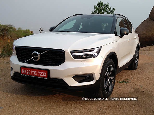 XC40 review: Volvo's smallest SUV is big on design - The Economic Times