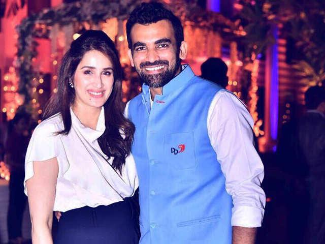 Sagarika Ghatge: Zaheer Khan and Sagarika Ghatge throw an official engagement party