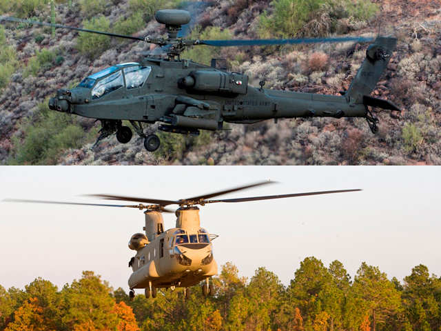 Apache & Chinook will strengthen India's defence capabilities ...