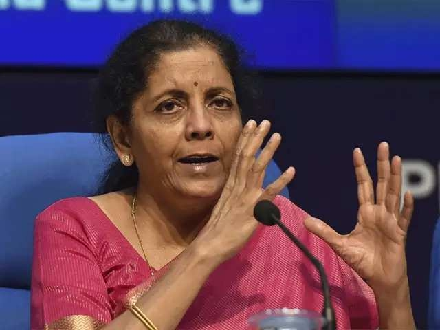 Finance Minister Nirmala Sitharaman to address press conference at ...