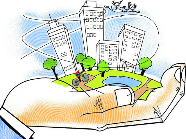 Love your locality, it's worth it - The Economic Times