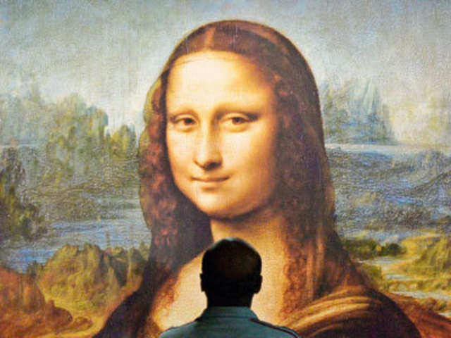 Real Art Monalisa Painting