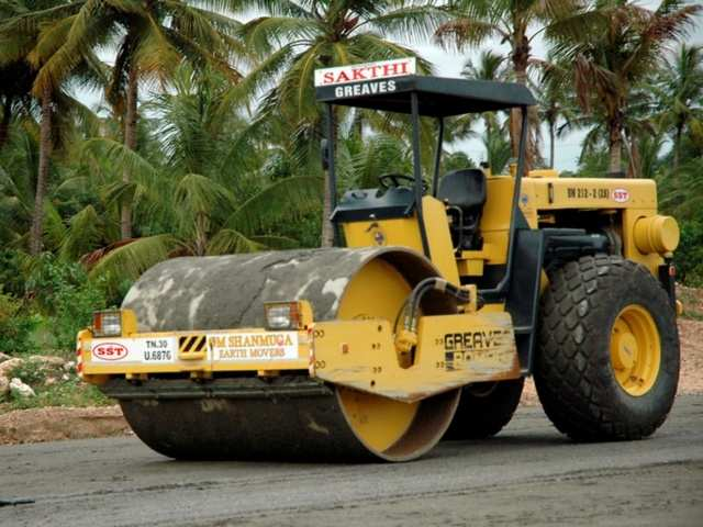 Manufacture factory machines for earthmoving and land reclamation works
