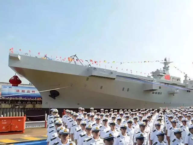China to roll out warship even as it battles Covid-19 - The Economic Times