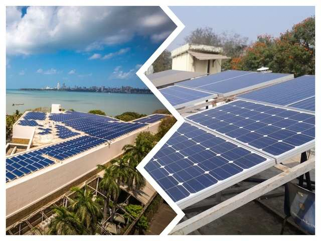 Rooftop Solar Panels Benefits Of Rooftop Solar Panels And Factors That Further Aid Their Installation In India The Economic Times