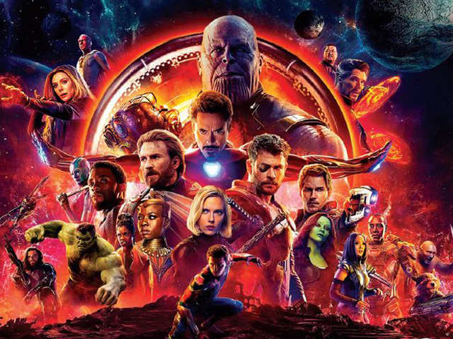 Avengers Infinity War Becomes India S Highest Grossing Hollywood Film The Economic Times