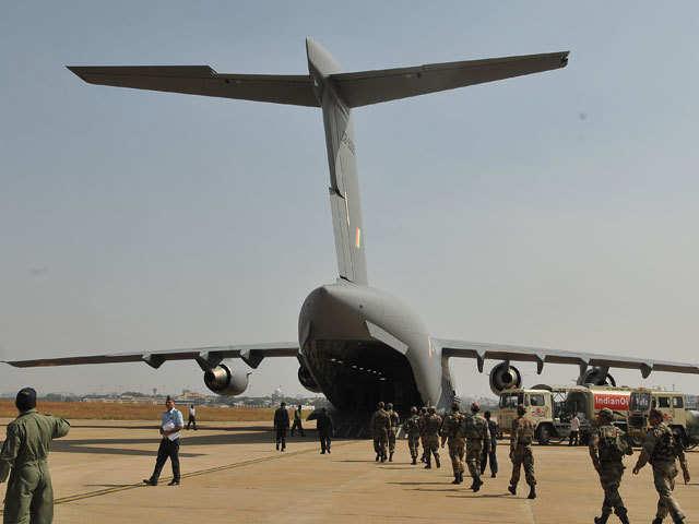 Iaf S C 17 C 130j Super Hercules Giants Saving Lives From