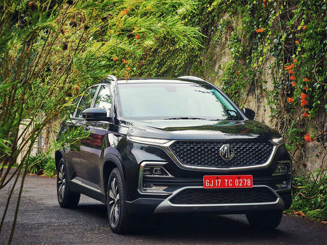 Mg Motor Sells 2 018 Units Of Hector In August The Economic Times