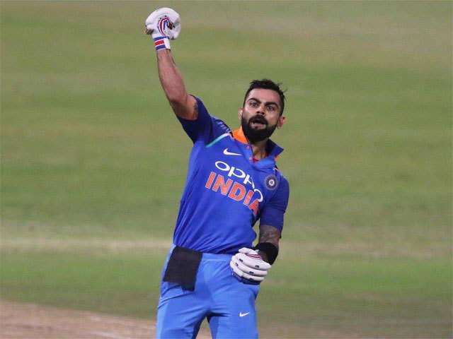 Virat Kohli Century Virat Kohli Scores His 33rd Odi Century